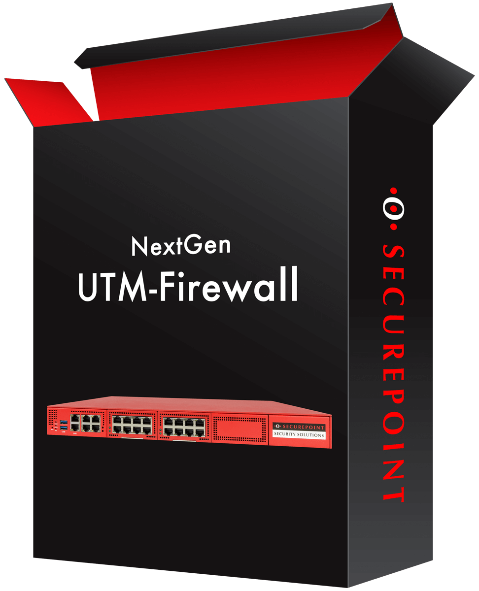 Packaging of an UTM Firewall